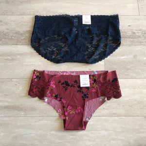 NWT Bundle of 2 Auden Panties